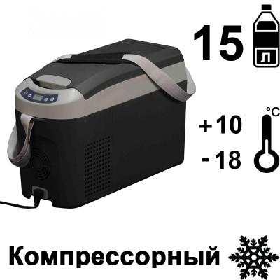 Автохолодильник переносной компрессорный Indel B TB15