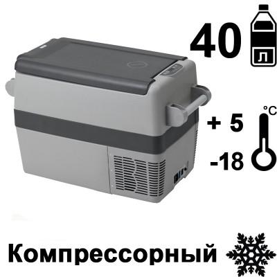 Автохолодильник переносной компрессорный Indel B TB41A