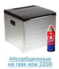 Автохолодильник на газе